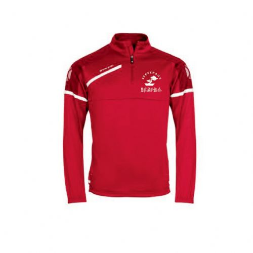 Stevenage Karate 1/4 Zip Tracksuit Top Senior